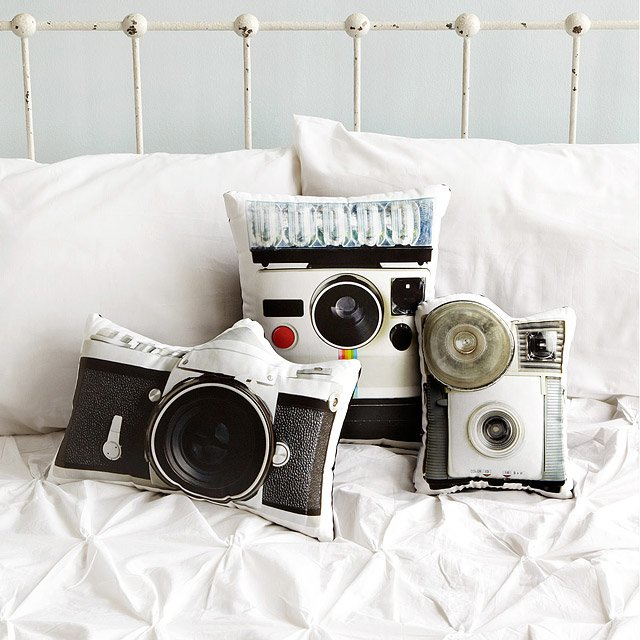 Vintage Camera Pillows