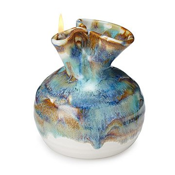 Pottery Oil Candle