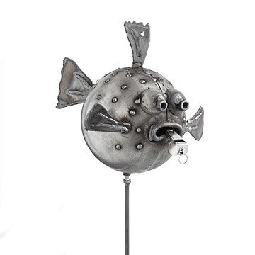 Blowfish Garden Stake