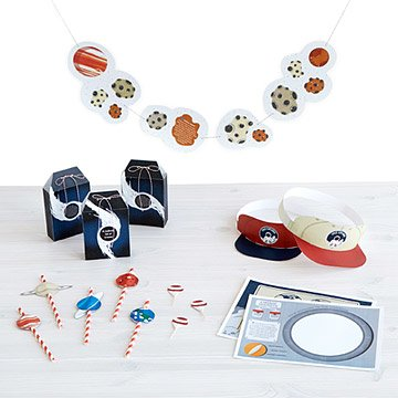 Printable Outer Space Party Kit