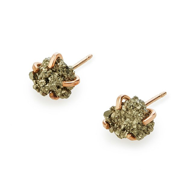 Pyrite Sparkle Earrings