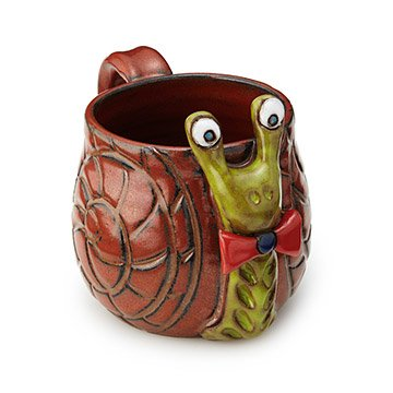 Shelldon the Snail Mug