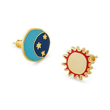 Sun & Moon Mismatched Earrings