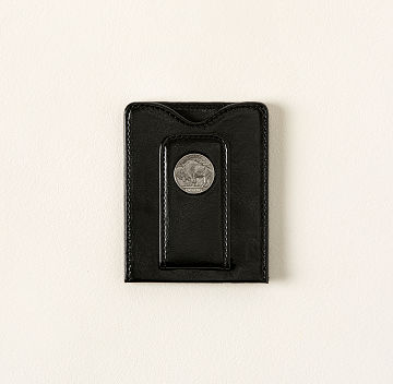 Buffalo Nickel Billfold Money Clip