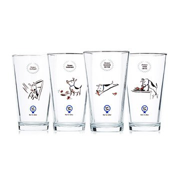 Bad Dog Best in Show Tumblers - Set of 4