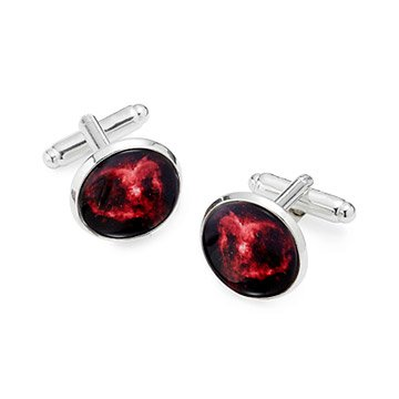 Heart Nebula Cufflinks