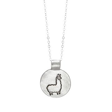 Lucy the Llama Necklace