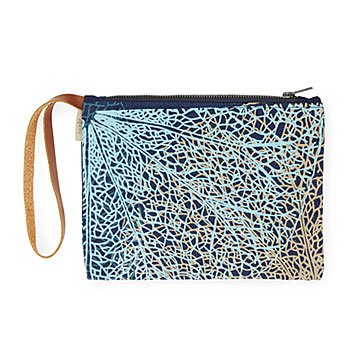 Recycled Denim Wristlet