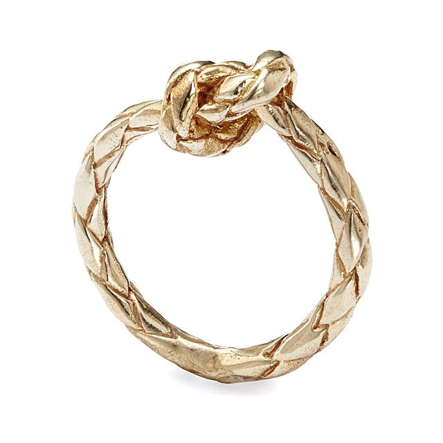 Love Knot Rope Ring