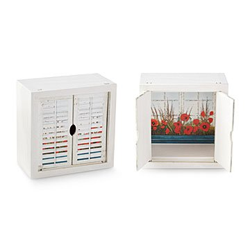 Keepsake Window Jewelry Box