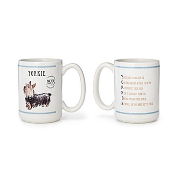 Pedigree Poem Mugs - Set of 2