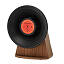 Vintage Vinyl Bluetooth Speaker 3 thumbnail