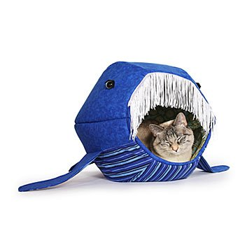 Whale Cat Bed