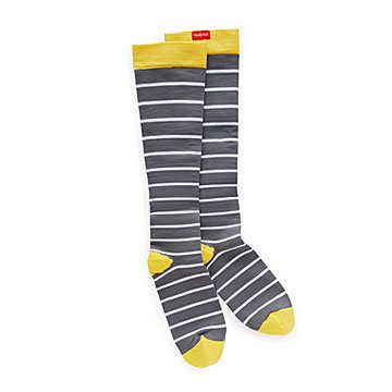 Summertime Stripes Nylon Compression Socks