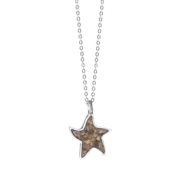 Custom Beach Starfish Necklace