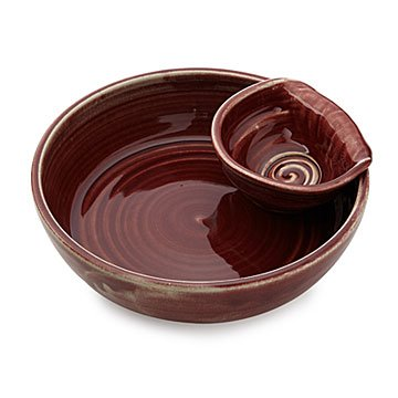 Serving Piece with Removable Side Bowl