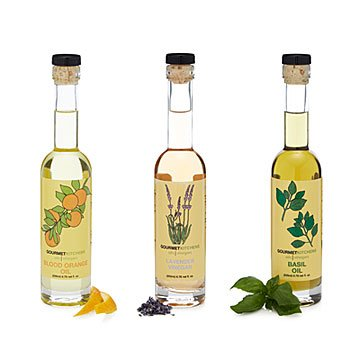 Infused Oil & Vinegar Trio