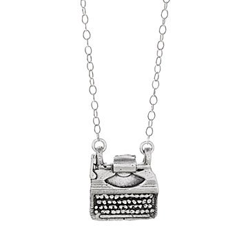 Iconic Typewriter Necklace