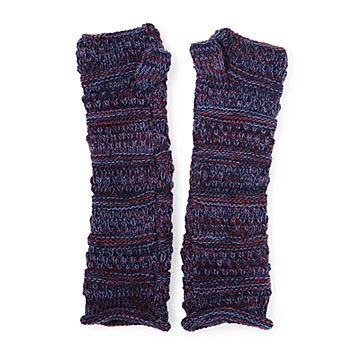 Pop of Purple Arm Warmers