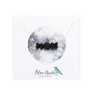 Moon Phase Oil Diffuser Necklace