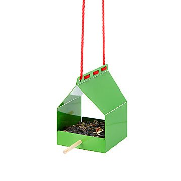 Modern Origami Hanging Bird Feeder