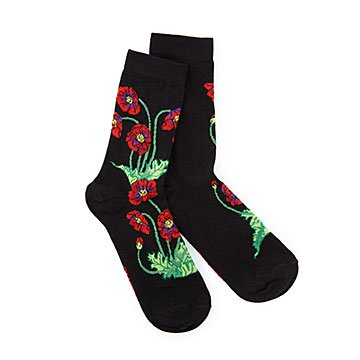 Women's Apothecary Poppies Socks