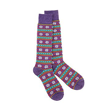 Starry Stripe Alpaca Socks