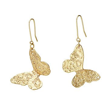 Lace Butterfly Earrings