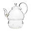 Glass Teapot & Warmer 2 thumbnail