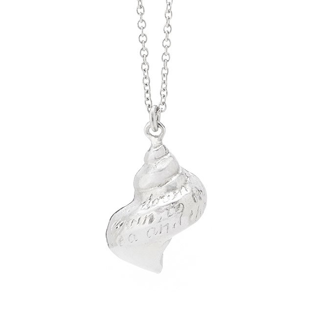 Seashell Poetry Necklace