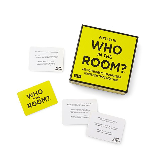 Who in the Room? Party Game