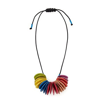 Living in Color Tagua Necklace