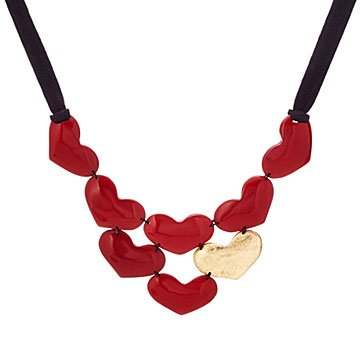Lots of Love Tagua Bib Necklace