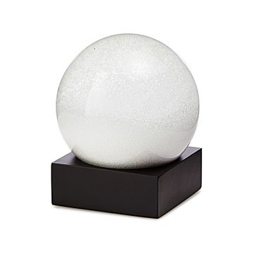 White Out Snow Globe