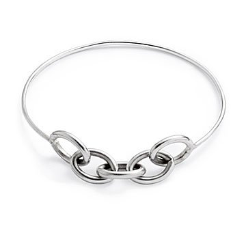 Sterling Silver Links Bangle