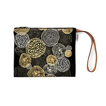 Upcycled Clutch with Flowers