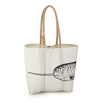 Narwhal Sailcloth Tote