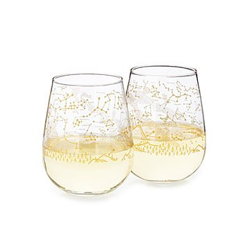 Stargazing Wine Glass Set