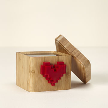 Lovebox Spinning Heart Messenger