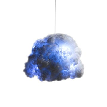 Tiny Cloud Lamp and Bluetooth Speaker
