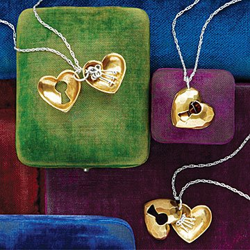 Keys to Mom's Heart Locket