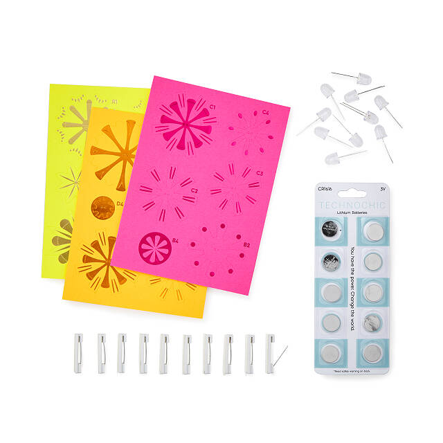 Flashy Flowers Kit