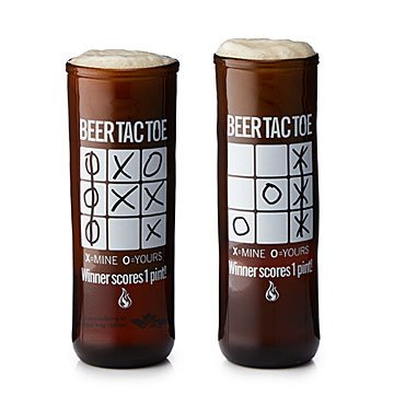 Tic-Tac-Toe Beer Glass Set