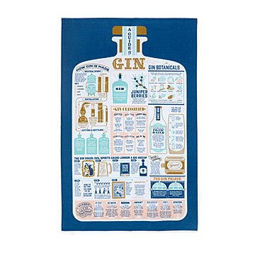 The Gin Lover's Tea Towel