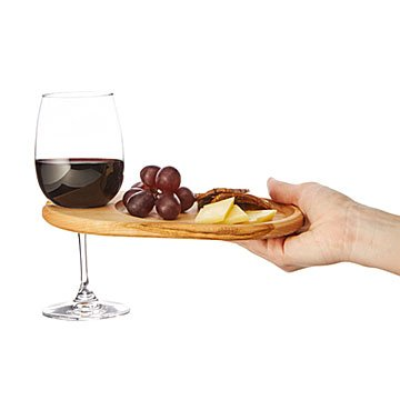 Wine & Appetizer Tray - Set of 4