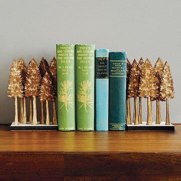 Majestic Forest Bookends