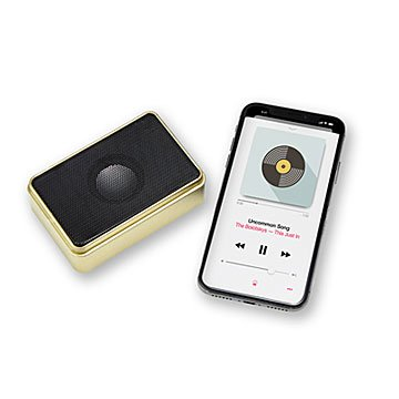 Pocket Tin Bluetooth Speaker