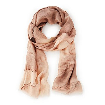 Blush Striations Marble Scarf