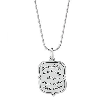 Little Things Friendship Necklace
