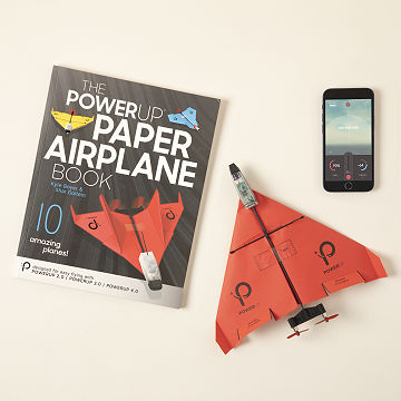 Smartphone-Controlled Paper Airplane